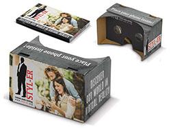Kartonnen vr-bril custom made