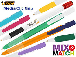 Bic© media clic grip balpen