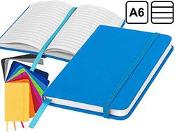A6 notitieboek lyster