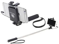 Compacte selfie stick