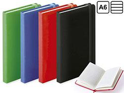 Notitieboek a6 harde kaft, 100 blad