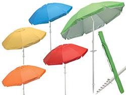 Parasol vita met geintegreerde grondboor