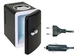 Mini-koelkast en -opwamer