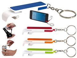 Sleutelhanger flesopener en telefoonhouder