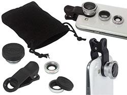 3-in-1 lens voor smartphone