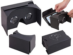 Kartonnen virtual reality bril