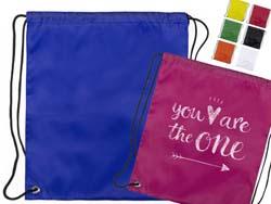 Trekkoord tas voor kinderen, 210t polyester