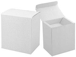 Wit papieren doosje voor een 300/400 ml mok