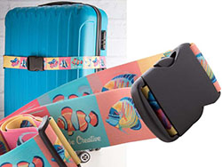 Custom made polyester verstelbare kofferriem