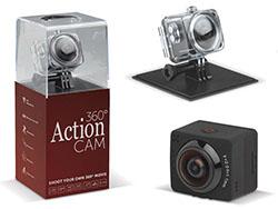 Full hd 360 graden camera met een resolutie van 10