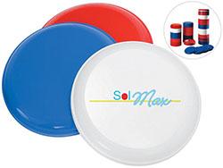Frisbee stapelbaar, gerecycleerd materiaal