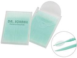 Tandenstokers met inter-dentaal borsteltje