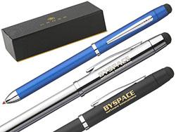 Multifunctionele cross 2-kleuren balpen en potlood