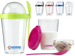 Yoghurt cup transparante kunststof