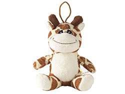 Pluche knuffelgiraffe uit de animal friend serie