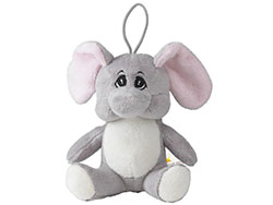 Pluche knuffelolifant uit de animal friend serie