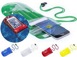 Waterdichte mobiele telefoonhoes met touch screen