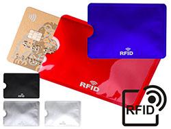Aluminium creditcardhouder met rfid blocker