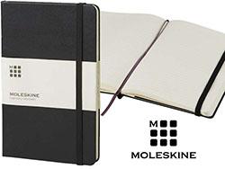 Moleskine classic hard cover large blanco