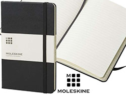 Moleskine classic hard cover medium gelinieerd