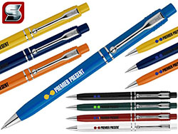 Stilolinea raja chrome pennen blauwschrijvend