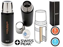 Swiss peak elite 0.5l copper vacuum fles