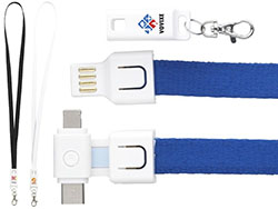 Techcord 3-in-1 lanyard