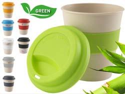 Eco bamboo-to-go mok bpa vrij