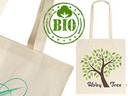 Organisch katoenen shopper