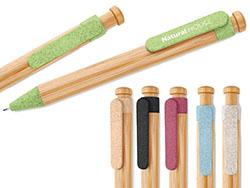 Balpen van bamboe/tarwe