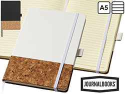 A5 kurk en thermo pu notitieboek