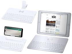 Bluetooth® toetsenbord met draadloze oplader