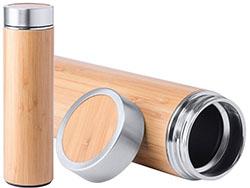 Bamboe sportfles rvs 500 ml