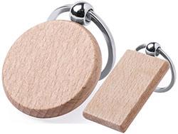 Sleutelhanger hout