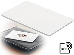 Aluminium rfid blokkeerkaart