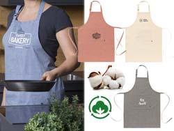 Cocina organisch katoenen schort