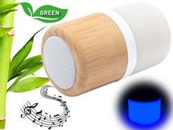 Bamboe bluetooth luidspreker kevil | Harogifts