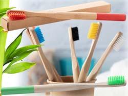 Bamboe tandenborstel coloboo