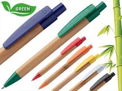 Bamboe schrijfpen blauwschrijvend colothic