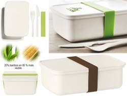 Brooddoos van bamboe/mais pla nanbox