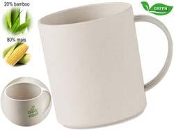 Mok van bamboe/mais pla nan mug