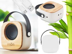 3w bamboe bluetooth speaker ohio | Harogifts