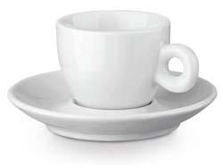 Presso koffiekopje met schoteltje