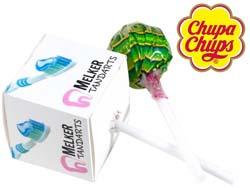 Chupa chups lolly in vierkant doosje