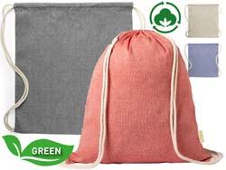 Rugzak van gerecycleerd katoen konim