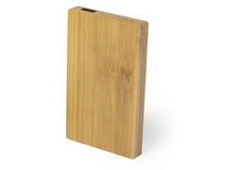 Bamboe powerbank nipax 5000 mah