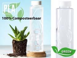 Fles van pla 100 % composteerbaar kutyl 830