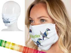 Herbruikbaar gezichtsmasker 2-laags