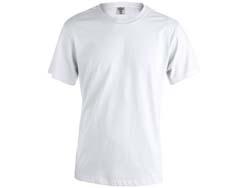 Volwassene t-shirt katoen 130 gr. maten s-xxl