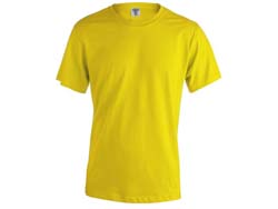 Volwassene t-shirt katoen 130 gr. maten s tot xxl